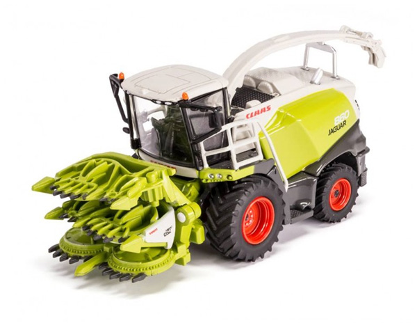 Claas Jaguar 860 Forage Harvester w/ Orbis 750 Cutter (USK) - 1:87
